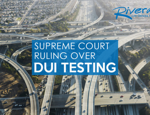 Supreme Court Ruling Over DUI
