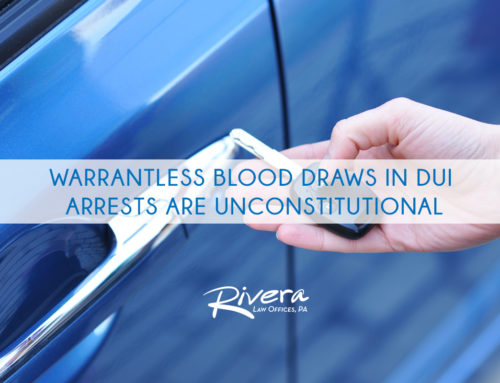 Warrantless Blood Draws in DUI Arrests Are Unconstitutional