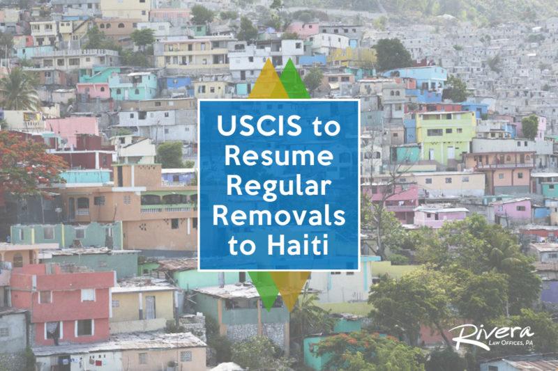 uscic to resume regular removals to haiti