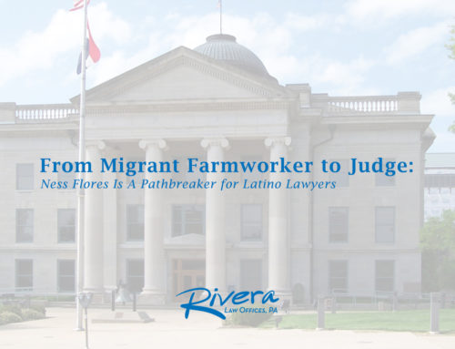 From Migrant Farmworker to Judge: Ness Flores Is Pathbreaker for Latino Lawyers
